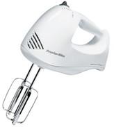 Proctor-Silex Proctor Silex Bowl Rest 5 Speed Hand Mixer- White 62535Y