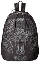 John Varvatos Tiger Printed Backpack