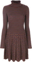 See by Chloe turtleneck long sleeved dress