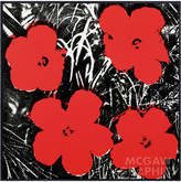 McGaw Graphics Flowers, 1964 by Andy Warhol (Framed)