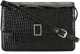 Loeffler Randall Snakeskin-Effect Shoulder Bag