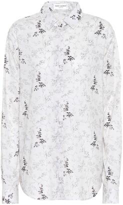 Saint Laurent Printed cotton shirt