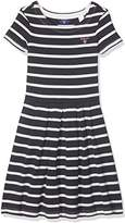 Gant Girl's O. Breton Stripe Ss Dress