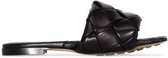 Bottega Veneta Flat Woven Sandals