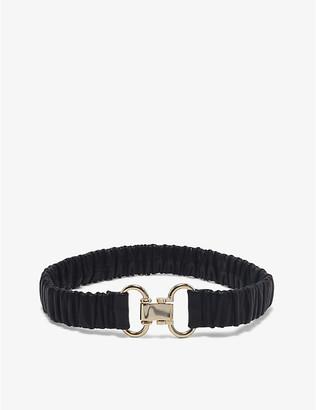Sandro Marco leather elasticated belt