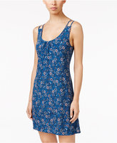 Alfani Double-Strap Printed Chemise, Only at Macy's