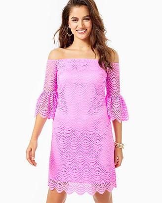 Lilly Pulitzer Lexa Off-The-Shoulder Dress