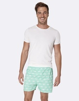 Gone Fishing Green Boxer Shorts