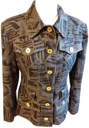 Guy Laroche Multicolour Cotton Jacket for Women