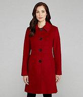 Anne Klein Wool-Blend Walking Coat