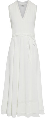 3.1 Phillip Lim Tiered Frayed Cloque Maxi Dress