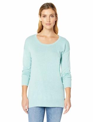Amazon Essentials Women's Lightweight Long-Sleeve Scoopneck Tunic Sweater
