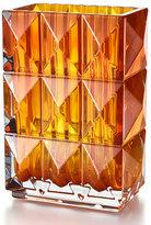 Baccarat Louxor Vase, Amber