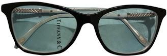 Tiffany & Co. Black Plastic Sunglasses