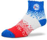 For Bare Feet Philadelphia 76ers Marquee Sleep Soft Socks