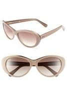 Tod's 59mm Metal Trim Sunglasses Shiny Black One Size