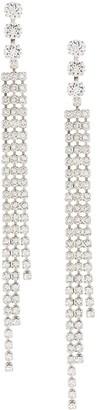 Isabel Marant Crystal Embellished Statement Earrings