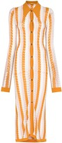 Thumbnail for your product : Dodo Bar Or Vertical-Stripe Midi Shirtdress