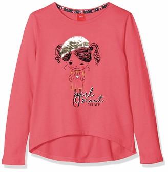 S'Oliver Girls' 53.909.31.8890 Longsleeve T-Shirt