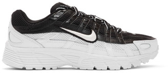 Nike Black and White P-6000 Sneakers