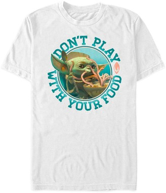 Disney Star Wars: The Mandalorian Season 2 T-Shirt for Adults Don't Play with Your Food Limited Release