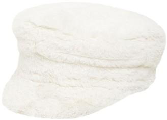 Ruslan Baginskiy Baker Boy Faux Fur Hat