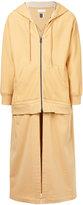 Facetasm hooded longline jacket