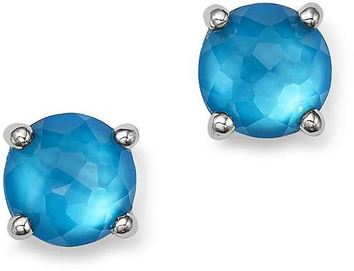 Ippolita Sterling Silver Wonderland Mini Doublet Stud Earrings in Ice