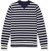 Sacai Striped Cotton Sweater