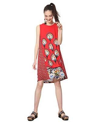 Desigual Women's VEST_VENTO Dress,EU XX