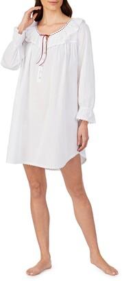 Eileen West Cotton Lawn Short Nightgown