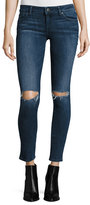 DL1961 Emma Ripped Power Legging Jeans, Barbwire