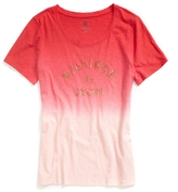 Tommy Hilfiger Final Sale-Dip Dye Graphic Tee With Sequins