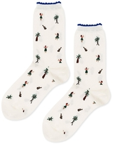 Hansel from Basel Tiki Wiki Crew Socks