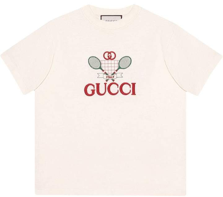 Gucci T-shirt with Tennis