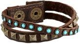 Leather Rock B337 Bracelet
