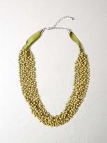 White Stuff Short mossy necklace