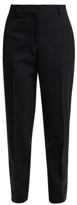 Calvin Klein Wall Street Tapered Gabardine Trousers - Navy Multi