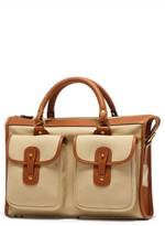 Ghurka Men's Examiner Briefcase - Beige