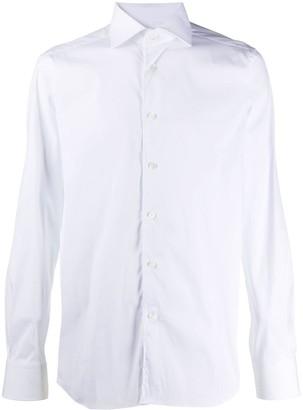 Corneliani Pointed Collar Regular-Fit Shirt