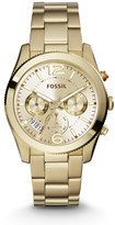 Fossil Perfect Boyfriend Multifunction Gold-Tone Stainless Steel Watch