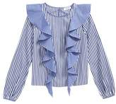Milly Minis Kennedy Ruffle Top