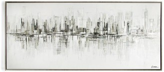Graham & Brown New York Reflections Framed Canvas