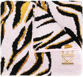 Kenzo tiger knitted scarf