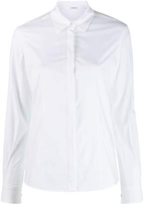 P.A.R.O.S.H. pointed collar shirt