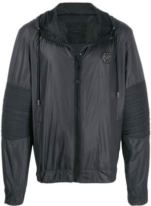 Philipp Plein Space Plein hooded jacket