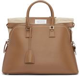 Maison Margiela Brown Leather Duffle Bag