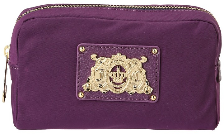 Juicy Couture Easy Everyday Cosmetic Case (Crushed Berry) - Bags and Luggage