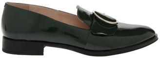 Jonak Ahora Vert/Green Flat Shoe