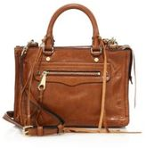 Rebecca Minkoff Regan Micro Distressed Leather Satchel